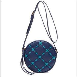 Isabella Fiore Blue Halo Crossbody Bag